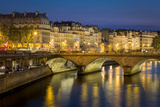 Pont Neuf and the Buildings Along River Seine, Paris France Photographic Print by Brian Jannsen