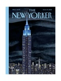 The New Yorker Cover - November 19, 2012 Metal Print by Mark Ulriksen