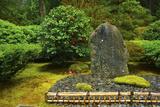 Flat Garden, Portland Japanese Garden, Portland, Oregon, Usa Photographic Print by Michel Hersen