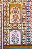 Jaipur, Rajasthan, India. Floral Decoration, Amber Palace Photographic Print by Charles Cecil