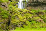 Iceland. Seljalandsfoss. Gljufrabui Waterfall Photographic Print by Inger Hogstrom