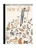 The New Yorker Cover - January 21, 2013 Metal Print by Barry Blitt