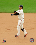 Gregor Blanco celebrates winning Game 3 of the 2014 National League Championship Series Photo