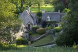Arlington Row - Homes for Weavers, Bibury, Gloucestershire, England Fotodruck von Brian Jannsen