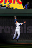 ALCS - Baltimore Orioles v Kansas City Royals - Game Four Photographic Print by Dilip Vishwanat