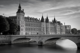 The Concierge, Pont Au Change and River Seine, Paris France Photographic Print by Brian Jannsen