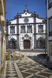 Church of Saint Sebastian in Ponta Delgada, AZores, Portugal Photographic Print by Brian Jannsen