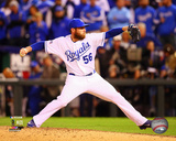 Greg Holland Game 3 of the 2014 American League Championship Series Action Photo