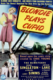 Blondie Plays Cupid - Movie Poster Reproduction Print