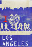 I Heart Running LA Prints