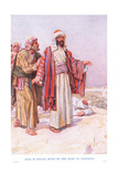 Saul Is Struck Blind on the Road to Damascus Giclee Print by Arthur A. Dixon