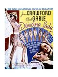 Dancing Lady - Movie Poster Reproduction Posters
