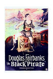 The Black Pirate - Movie Poster Reproduction Prints