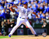 Jason Vargas Game 4 of the 2014 American League Championship Series Action Photo