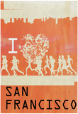I Heart Running SF Posters