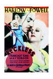 Reckless - Movie Poster Reproduction Giclee-tryk i høj kvalitet