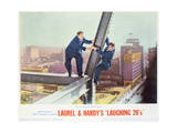 Laurel and Hardy's Laughing 20's - Lobby Card Reproduction Posters