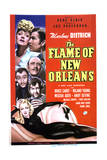 The Flame of New Orleans - Movie Poster Reproduction Print