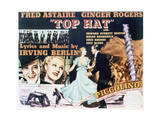 Top Hat - Lobby Card Reproduction Premium Giclee Print