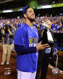 James Shields celebrates winning Game 4 of the 2014 American League Championship Series Photo