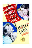 Libeled Lady - Movie Poster Reproduction Poster