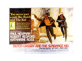 Butch Cassidy and the Sundance Kid - Lobby Card Reproduction - Reprodüksiyon