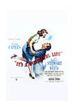 It's a Wonderful Life - Movie Poster Reproduction Obrazy