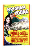Brigham Young - Movie Poster Reproduction Posters