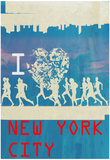 I Heart Running NYC 2 Poster