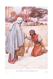 The Return of the Prodigal Son Giclee Print by Arthur A. Dixon
