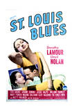 St. Louis Blues - Movie Poster Reproduction Print
