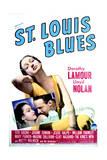 St. Louis Blues - Movie Poster Reproduction Print