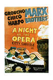 A Night at the Opera - Movie Poster Reproduction Poster