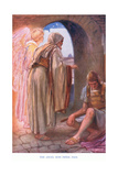 The Angel Sets Peter Free Giclee Print by Arthur A. Dixon