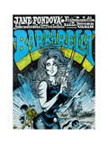 Barbarella - Movie Poster Reproduction Poster