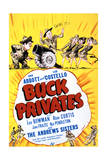 Buck Privates - Movie Poster Reproduction Print
