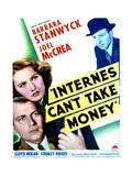 Internes Can't Take Money - Movie Poster Reproduction Posters