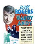 Handy Andy - Movie Poster Reproduction Premium Giclee Print