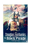 The Black Pirate - Movie Poster Reproduction Posters