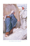 Jesus Appears to Mary Magdalene Giclee Print by Arthur A. Dixon