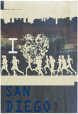I Heart Running SD Posters