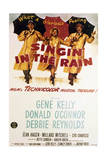 Singin' in the Rain - Movie Poster Reproduction Prints