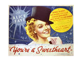 You're a Sweetheart - Lobby Card Reproduction Posters