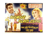 Blondie Plays Cupid - Lobby Card Reproduction Poster