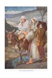 The Flight into Egypt Giclee Print by Arthur A. Dixon