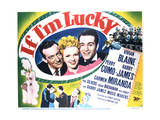 If I'm Lucky - Lobby Card Reproduction Posters