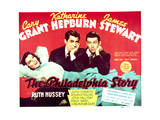 The Philadelphia Story - Lobby Card Reproduction Reproduction giclée Premium