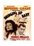 Bringing Up Baby - Movie Poster Reproduction Art