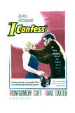I Confess - Movie Poster Reproduction Art