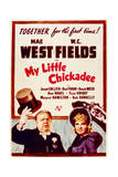 My Little Chickadee - Movie Poster Reproduction Print